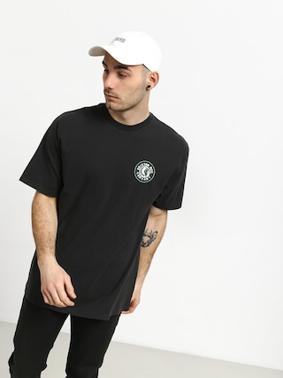 T-shirt Brixton Rival II Stnd (washed black/green)
