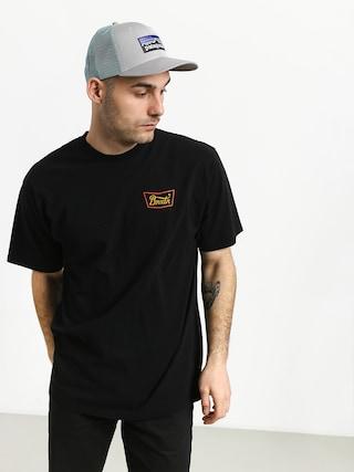 T-shirt Brixton Stith Stnd (black/gold)