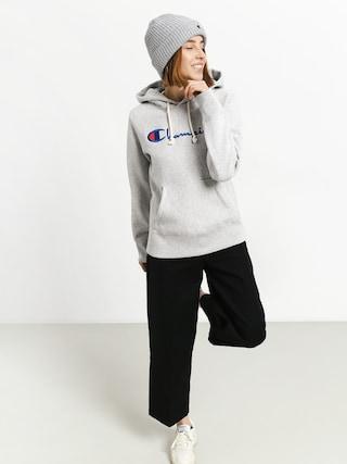 Bluza z kapturem Champion Reverse Weave Hooded Sweatshirt HD Wmn (loxgm)