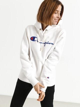 Bluza z kapturem Champion Hooded Sweatshirt HD Wmn (wht)