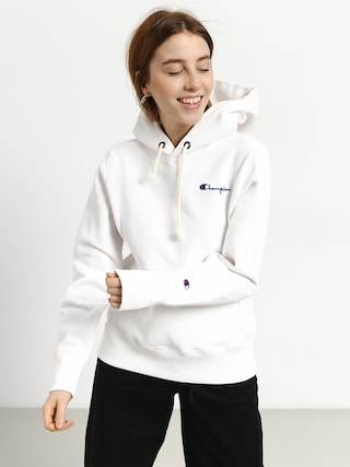 Bluza z kapturem Champion Reverse Weave Hooded Sweatshirt HD Wmn (wht)
