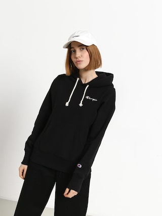 Bluza z kapturem Champion Reverse Weave Hooded Sweatshirt HD Wmn (nbk)