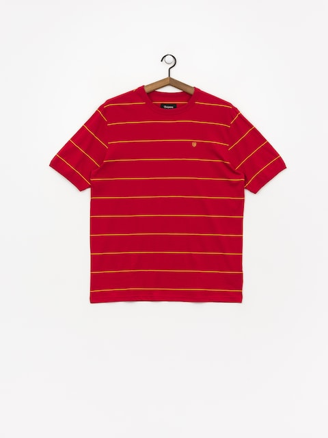 T-shirt Brixton B Shield (scarlet)