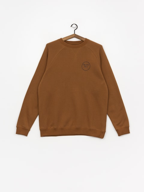 Bluza Brixton Wheeler Intl Crew (washed copper)