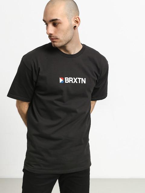 T-shirt Brixton Stowell Iv Stt (washed black)