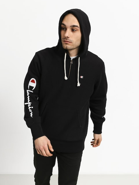 Bluza z kapturem Champion Hooded Half Zip Sweatshirt ZHD (nbk)