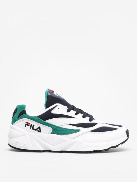 Buty Fila Venom Low (white/fila navy/shady glade)