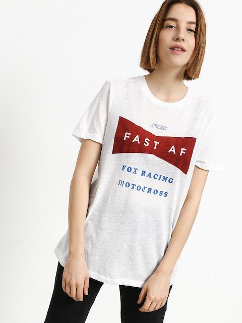 T-shirt Fox Fast Af Wmn