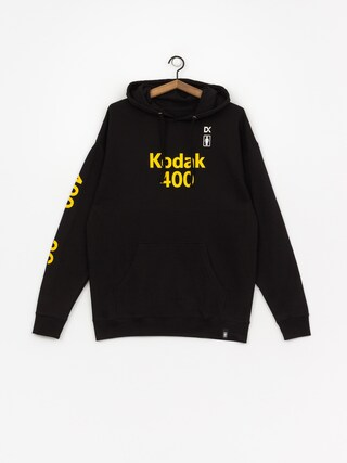 Bluza z kapturem Girl Skateboard Kodak Gold 400 HD (black)