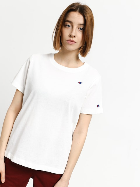 T-shirt Champion Crewneck T Shirt Wmn(wht)