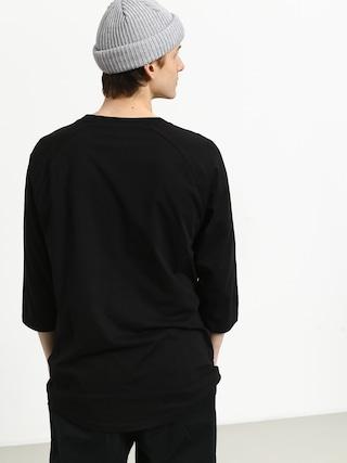 T-shirt Vans Classic Raglan (black/black/sunny lime)