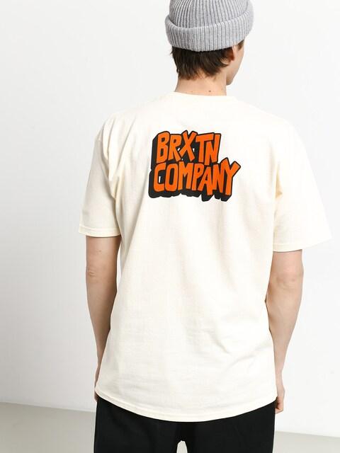 T-shirt Brixton Intake Stt (off white)