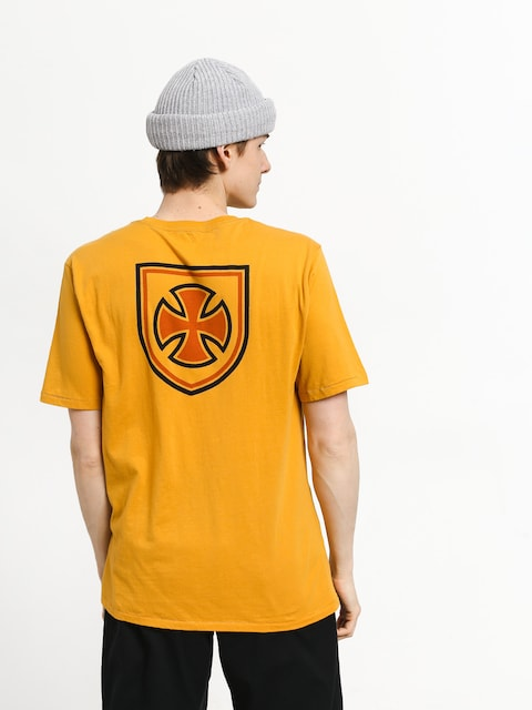 T-shirt Brixton Hedge Prt (yellow)