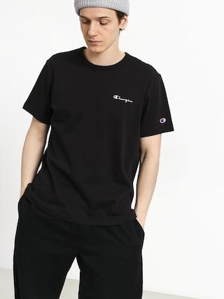 T-shirt Champion Premium Reverse Weave Left Chest Logo (nbk)