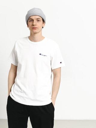 T-shirt Champion Premium Reverse Weave Left Chest Logo (wht)