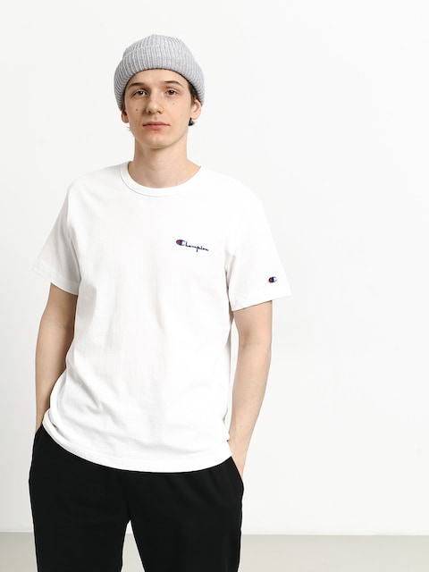 T-shirt Champion Crewneck T Shirt (wht)
