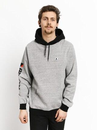 Bluza z kapturem Brixton Stowell Intl HD (heather grey/black)