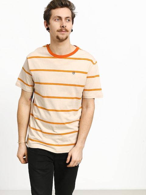 T-shirt Brixton Deputy (orange/tan)