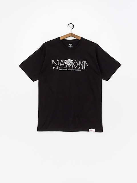 T-shirt Diamond Supply Co. Secrets Die