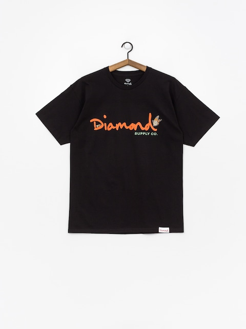 T-shirt Diamond Supply Co. Paradise Og Script