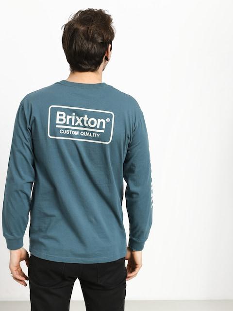 Longsleeve Brixton Palmer Sv Stt (orion blue)