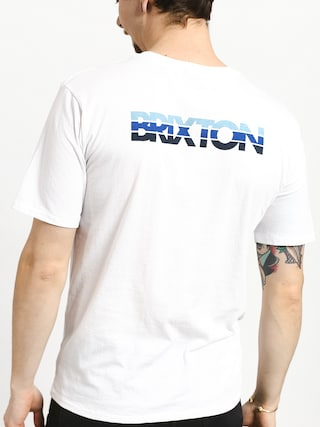 T-shirt Brixton Interceptor II Prt (white)