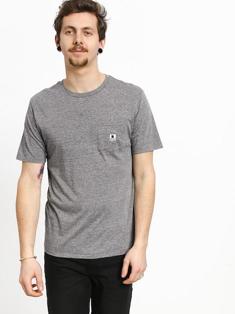 T-shirt Brixton Stowell Pkt (heather grey)