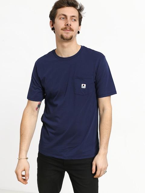 T-shirt Brixton Stowell Pkt (patriot blue)