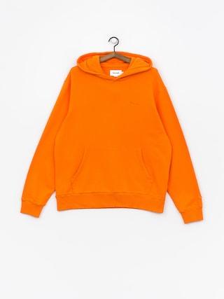 Bluza z kapturem Diamond Supply Co. Brilliant Overdyed Oversized HD (orange)