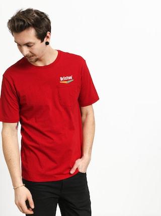 T-shirt Brixton Velocity Pkt (scarlet)