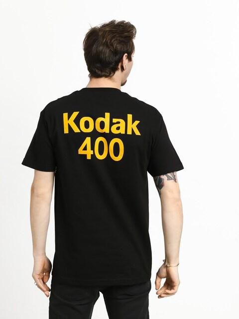 T-shirt Girl Skateboard Kodak Gold 400 (black)