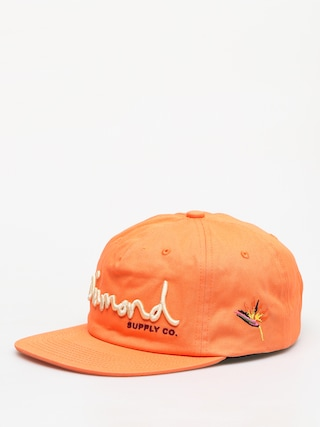 Czapka z daszkiem Diamond Supply Co. Og Script ZD (orange)