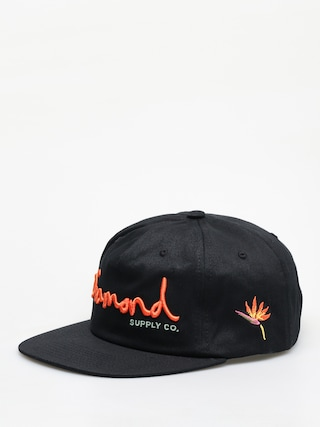 Czapka z daszkiem Diamond Supply Co. Og Script ZD (black)