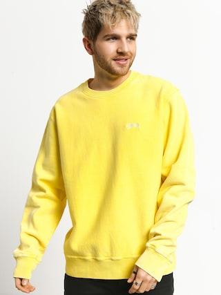 Bluza Stussy Stock Logo Crew (yellow)