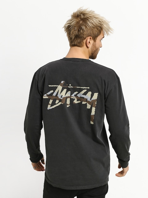 Longsleeve Stussy Camo Stock Pig Dyed Pkt