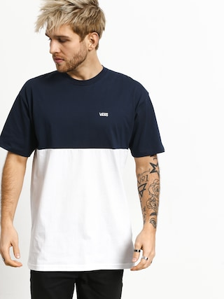 T-shirt Vans ColorBlock (dress blues/white)