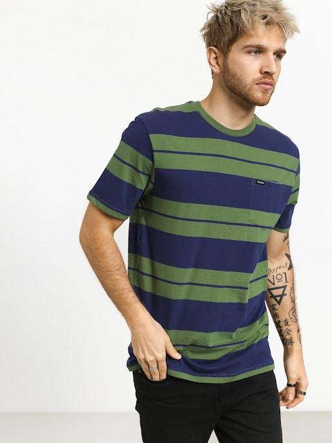 T-shirt Brixton Hilt Pkt (leaf/patriot blue)