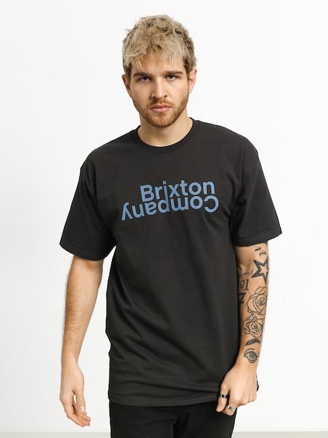 T-shirt Brixton Revert II Stt (washed black)