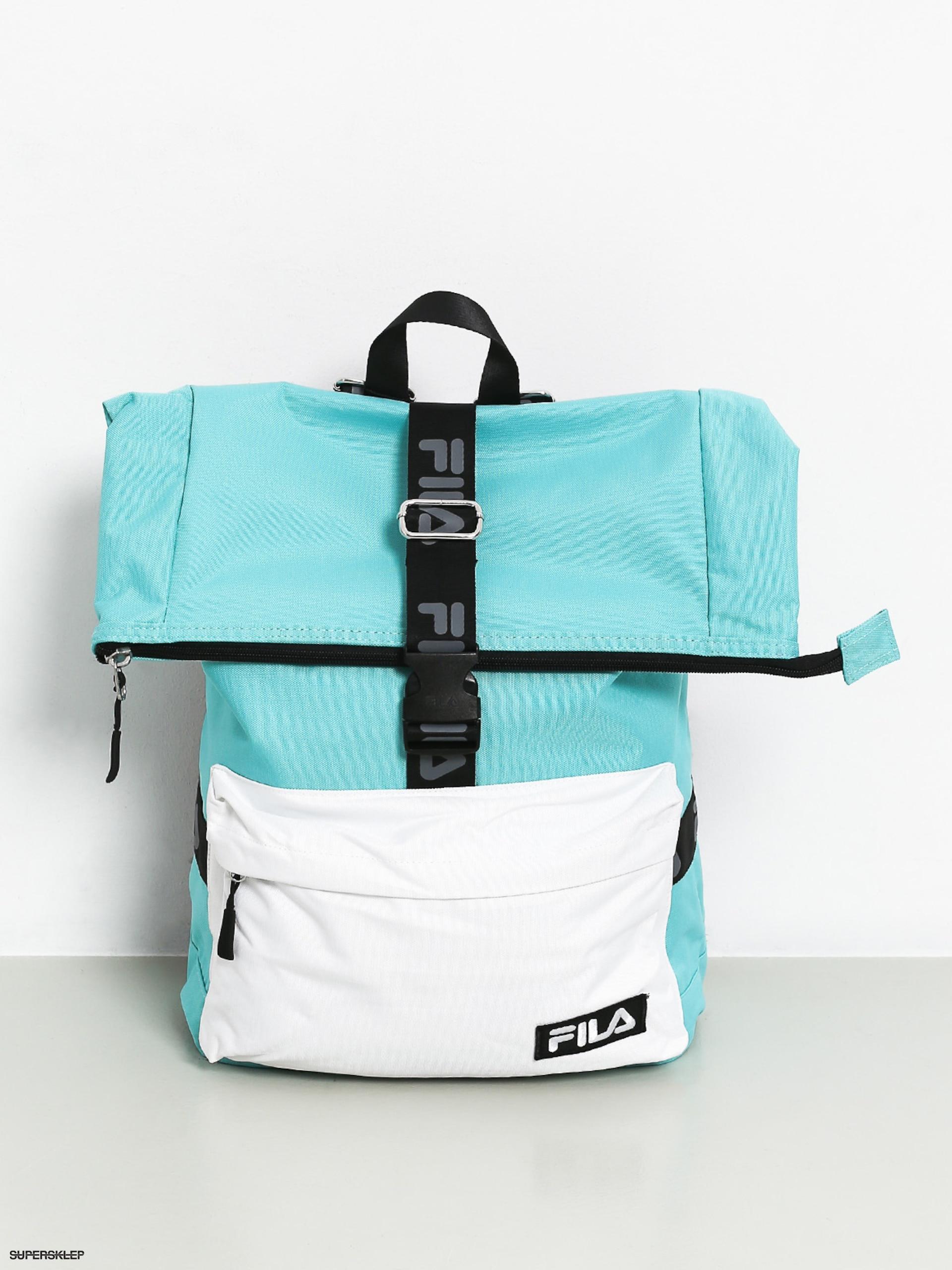 9684fc2873109 Plecak Fila Orebro (blue curacao black)