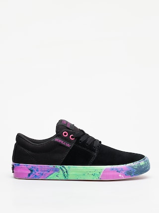 Buty Supra Stacks Vulc II (black neon acid)