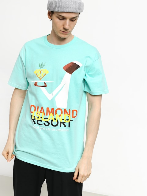 T-shirt Diamond Supply Co. Diamond Resort (diamond blue)