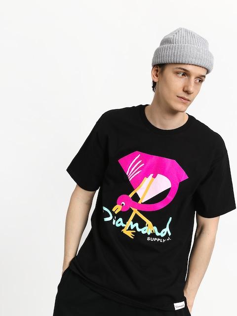 T-shirt Diamond Supply Co. Flamingo Sign
