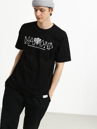 T-shirt Diamond Supply Co. Secrets Die (black)