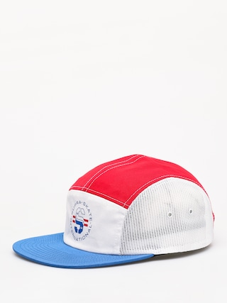 Czapka z daszkiem Supra Supra Skate 5 Panel ZD (red/white/blue)