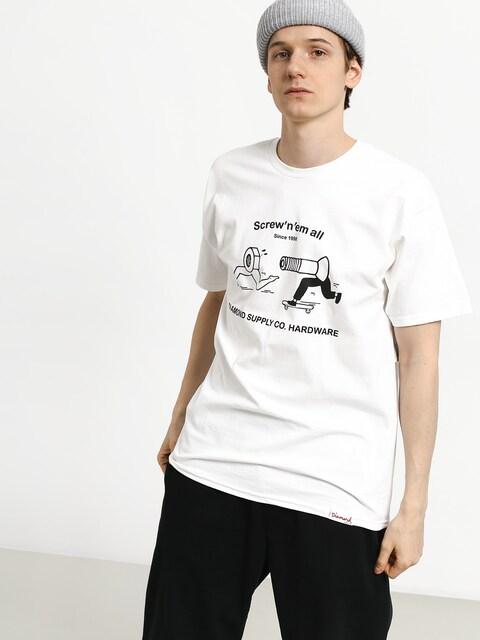 T-shirt Diamond Supply Co. Screw N Em All