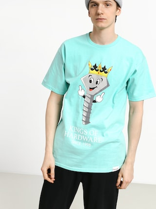 T-shirt Diamond Supply Co. King Of Hardware (diamond blue)