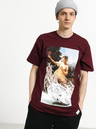 T-shirt Diamond Supply Co. Desire (burgundy)