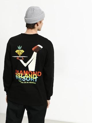 Longsleeve Diamond Supply Co. Diamond Resort (black)