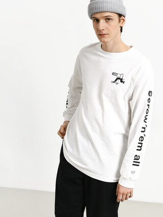 Longsleeve Diamond Supply Co. Screw N Em All (white)