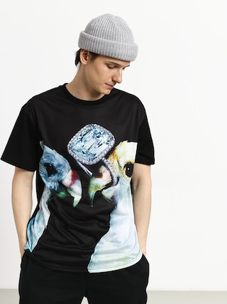 T-shirt Diamond Supply Co. Diamond Perroquet (black)